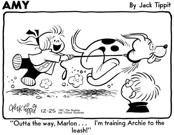 4: Jack Tippit 32 Amy daily panels 1965-1975