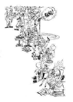 9: Al Scadujo single-page cartoon circa 1970