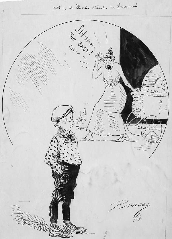 12: Clare Briggs cartoon 7/29/??