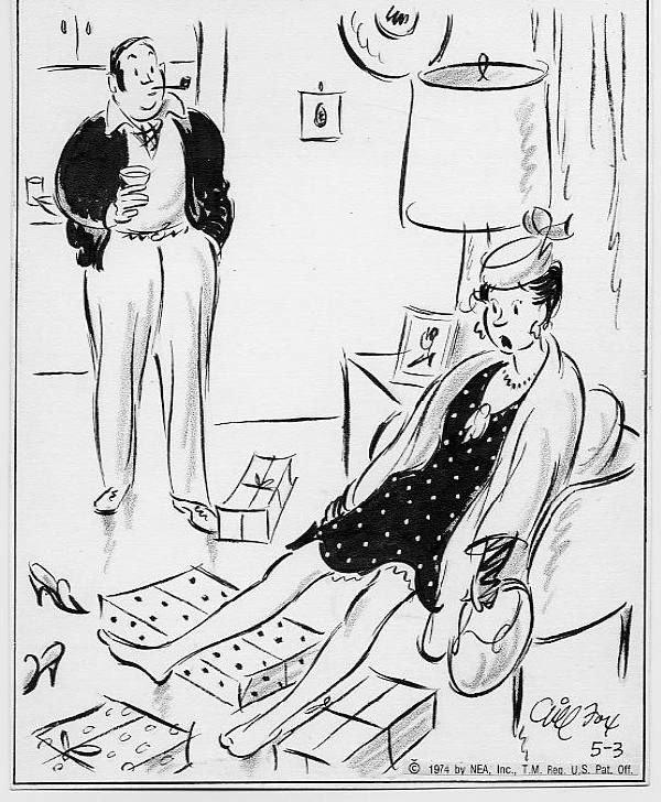 15: Gill Fox Side Glances daily panel 5/3/74