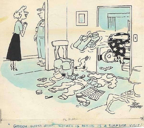 18: Bob Barnes magazine cartoon