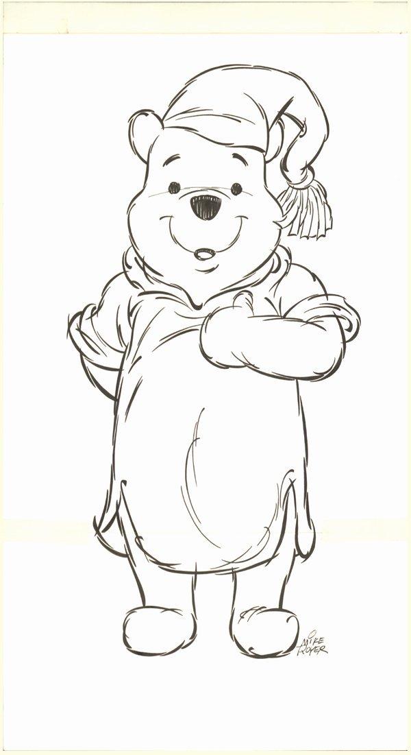 14: Mike Royer b/w Winnie the Pooh original Comic Art