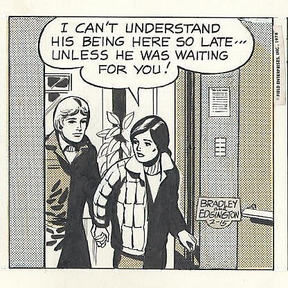 75: Bradley/Edgington Rex Morgan MD daily comic art - 3