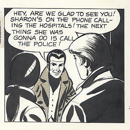 75: Bradley/Edgington Rex Morgan MD daily comic art - 4