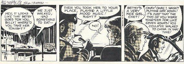 76: Bradley/Edgington Rex Morgan MD daily comic art