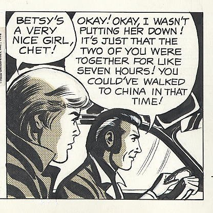 76: Bradley/Edgington Rex Morgan MD daily comic art - 4