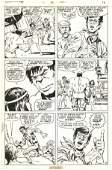 196: Trimpe / Severin Incredible Hulk #145 comic art 19