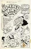 234: G Carlson 6 pgs Jingle Jangle #36 1948 comic art