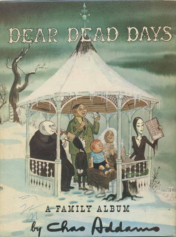 4: 5 Charles Addams books from the Bill Gaines collecti