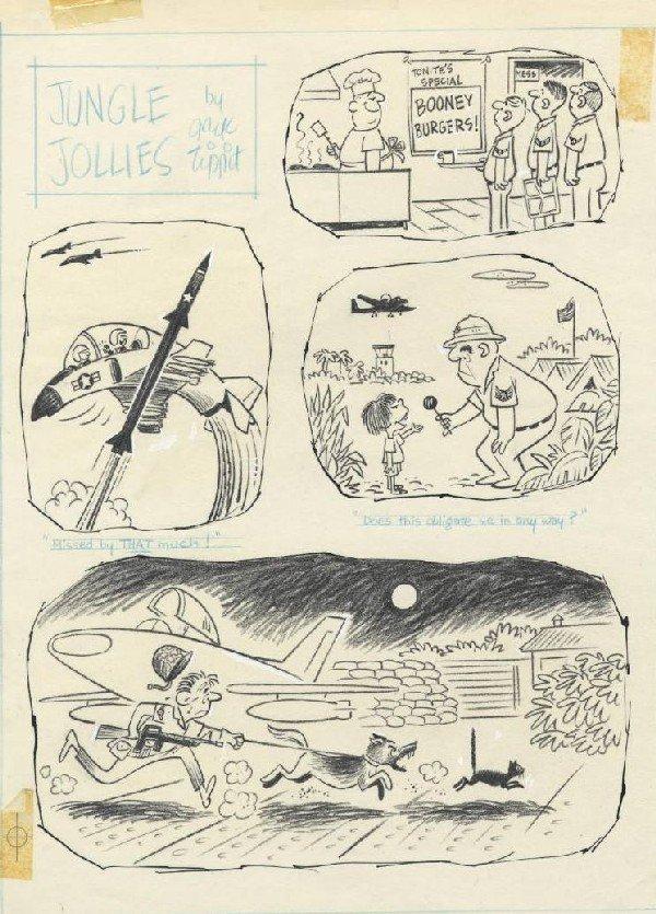 7: Tippit 14 Jungle Jollies 1966-7 original comic art