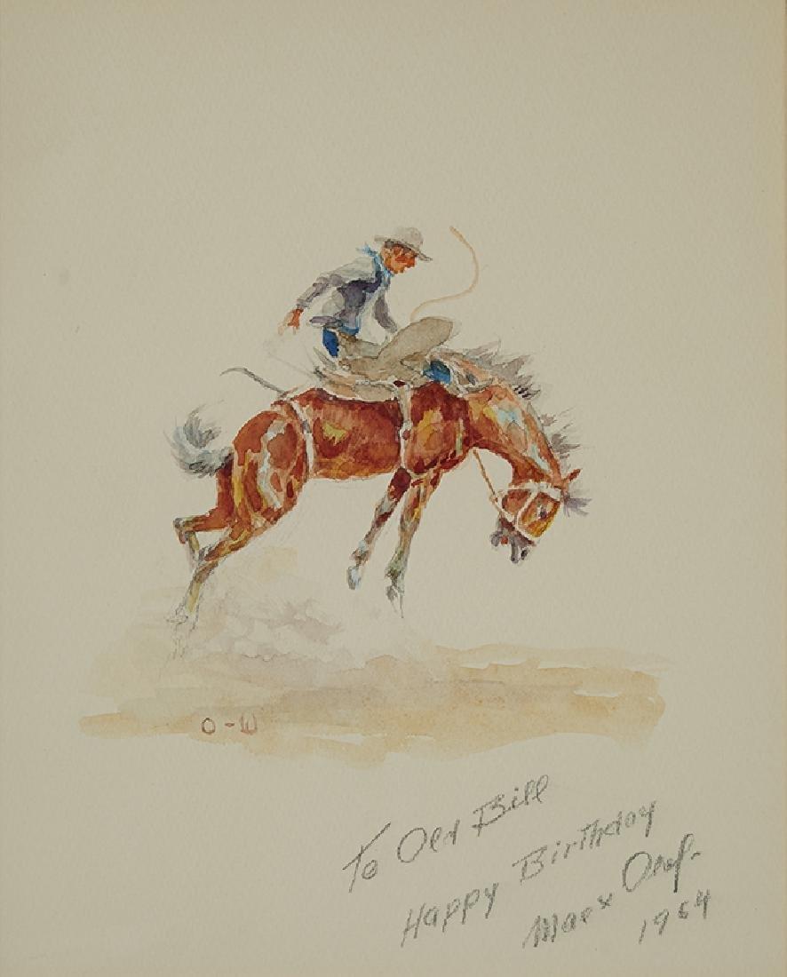 Olaf Wieghorst | Bucking Horse #2