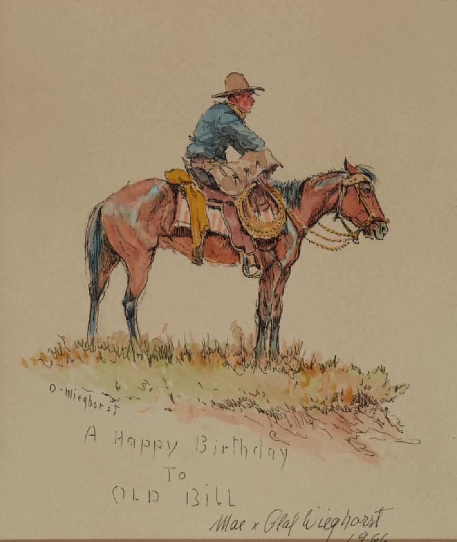 Olaf Wieghorst | Mounted Cowboy