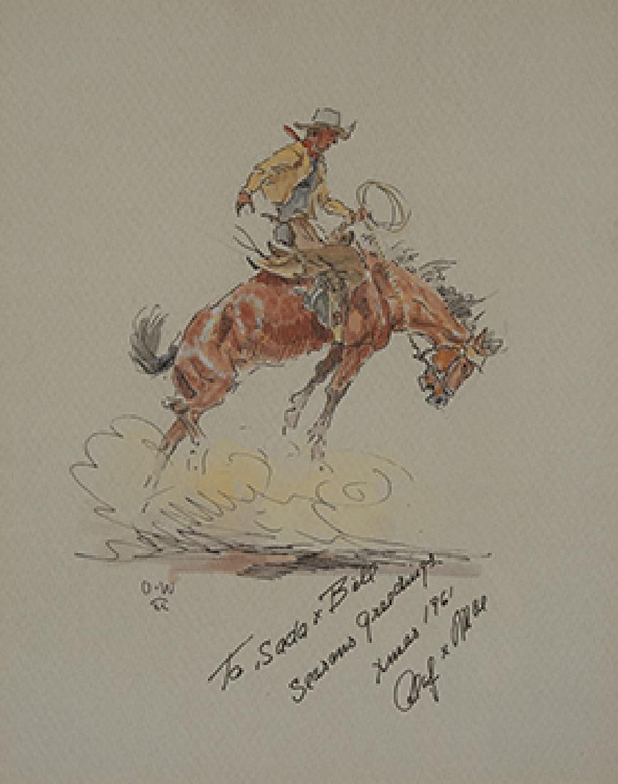 Olaf Wieghorst | Bucking Horse #1