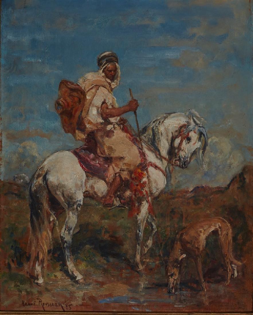 Henri Emilien Rousseau | Arabian Horseman
