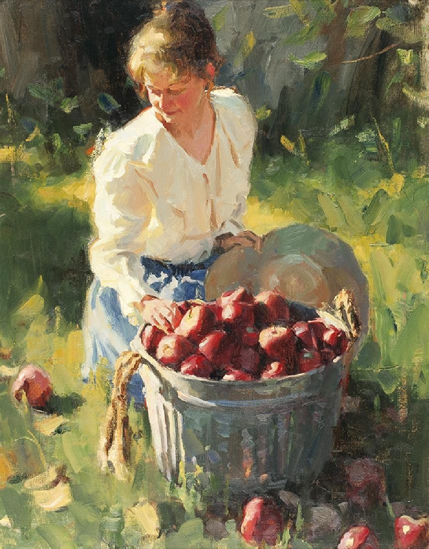 Mike Malm   Bushel of Apples