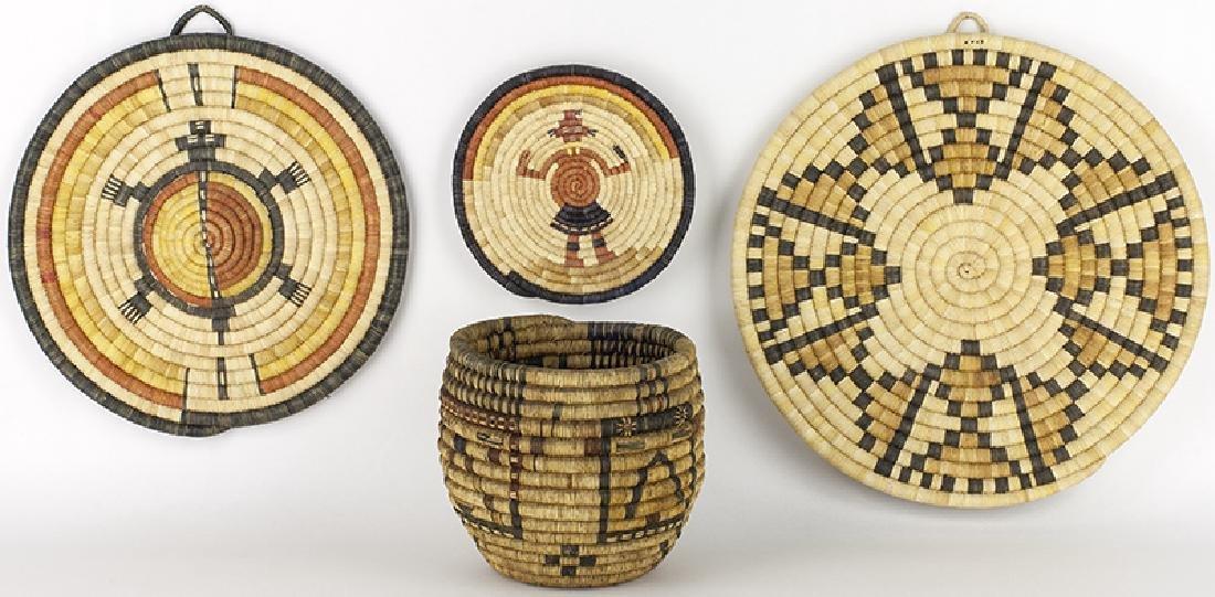 Various | Hopi Baskets - Lot of 4