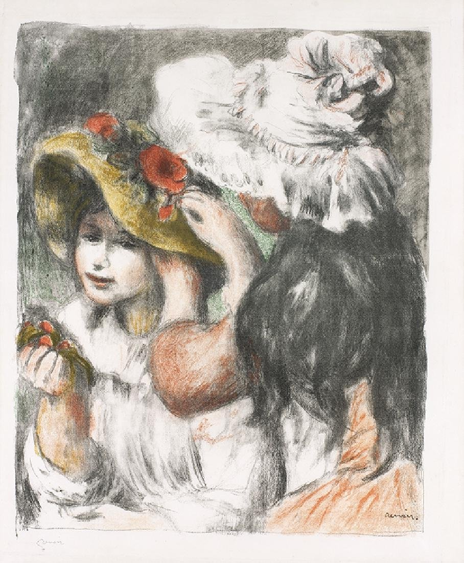 Pierre-Auguste Renoir | Le Chapeau Epingle