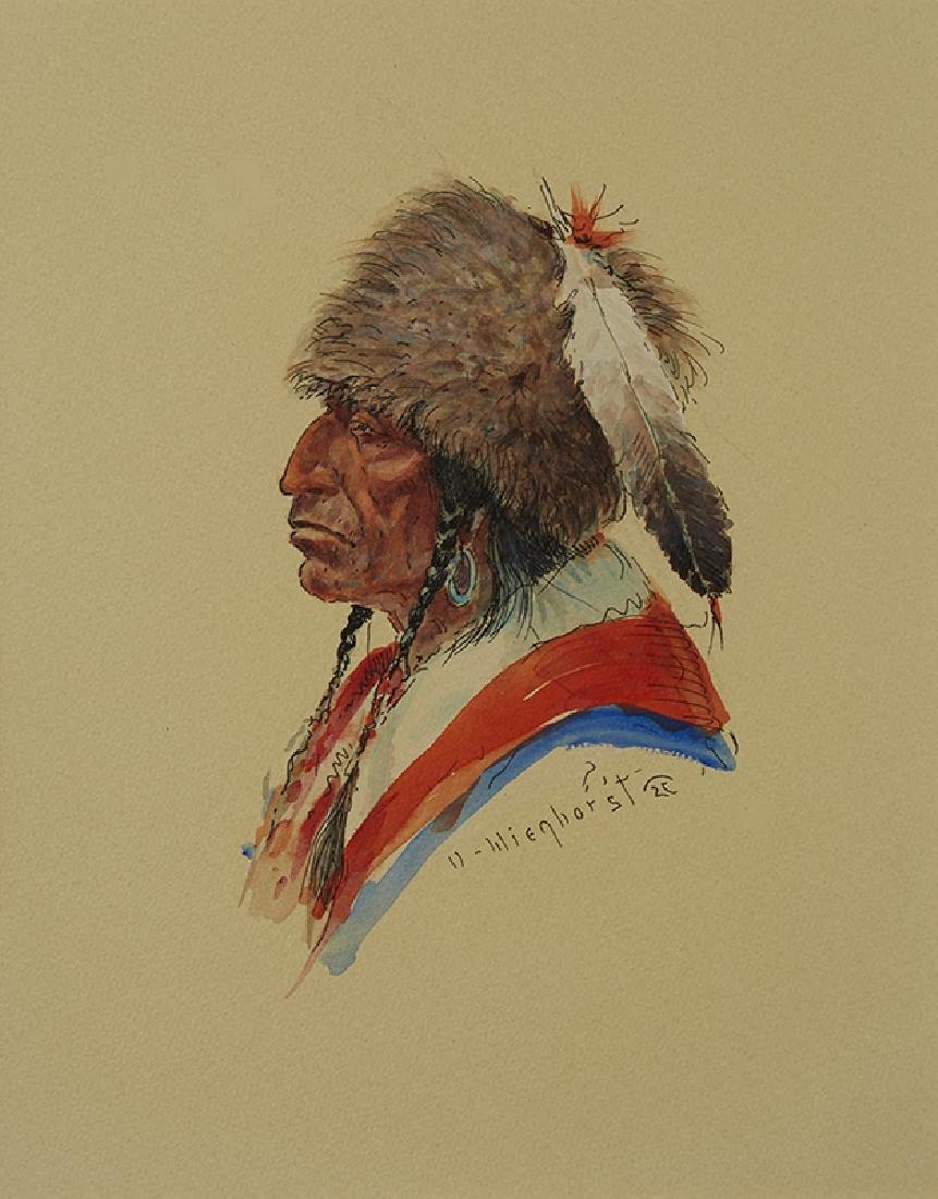 Olaf Wieghorst | Native American