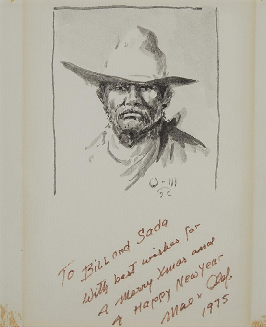 Olaf Wieghorst | Cowboy with Moustache
