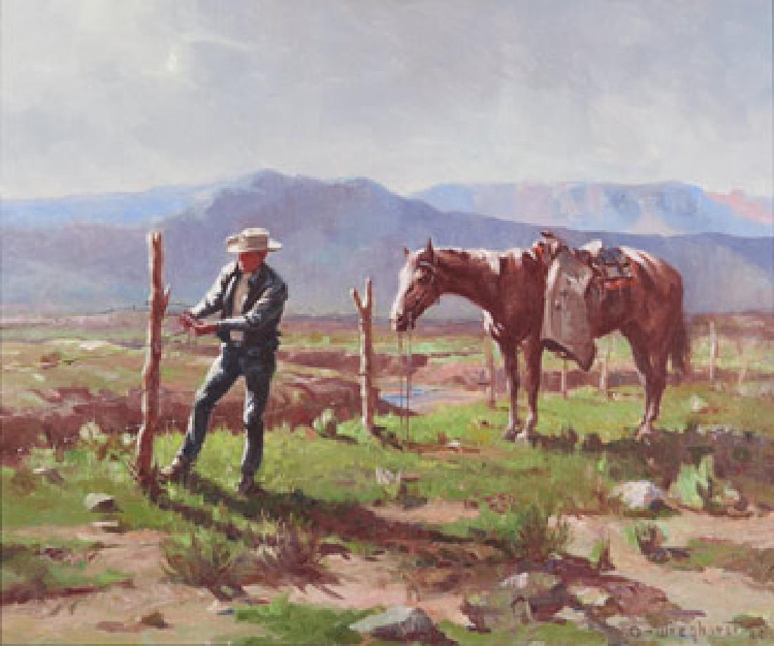 Olaf Wieghorst | The Fence Rider