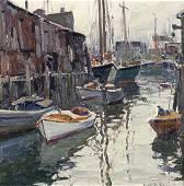 Emile Albert Gruppe | In the Harbor