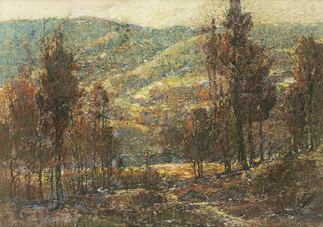Ernest Lawson | Autumn Landscape