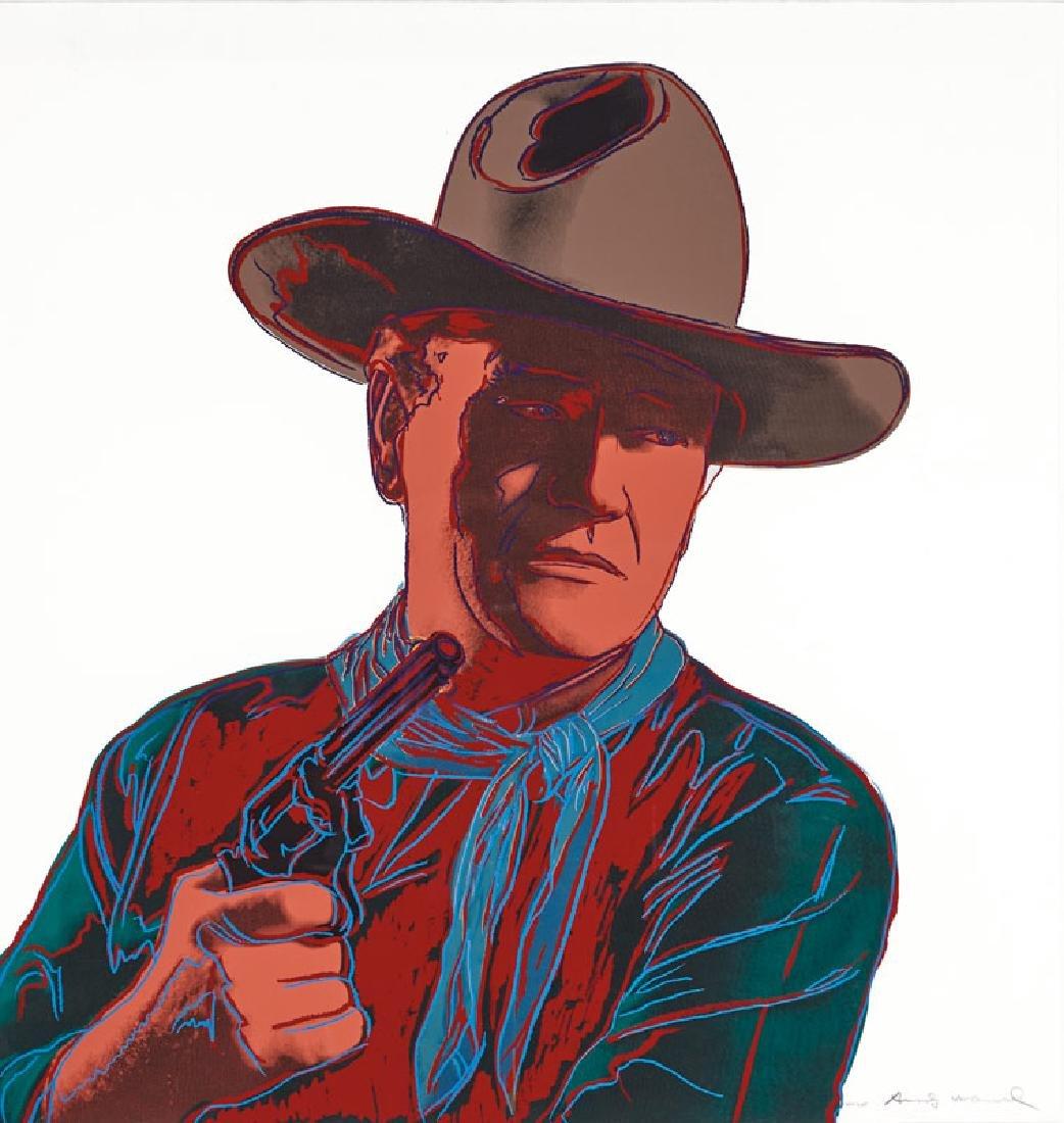 Andy Warhol   Cowboys and Indians: John Wayne 150/250