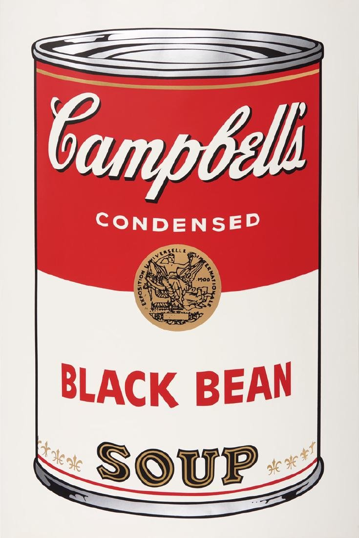 Andy Warhol   Campbell's Soup 1: Black Bean