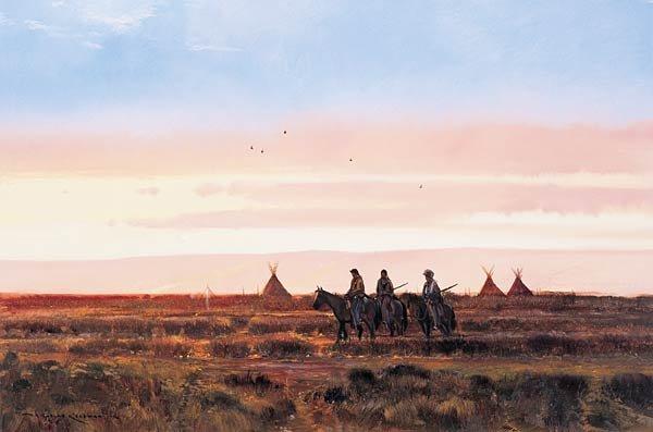 "1: Nicholas Coleman ""Blackfeet Riders"""