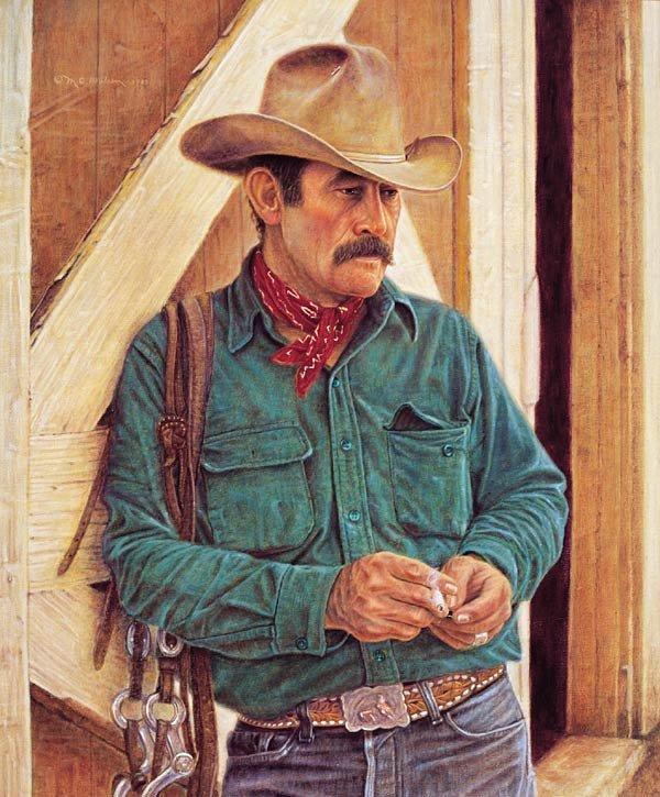 "12: M. C. Poulsen ""Wally McRae - Cowboy Poet"""