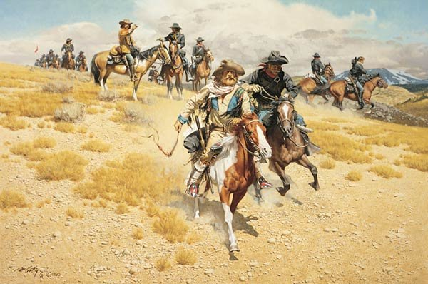 """14: Frank McCarthy """"The Dispatch Riders"""""""