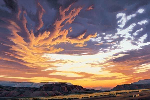 """15: Ed Mell """"Skyfires - Hoska Butte"""""""