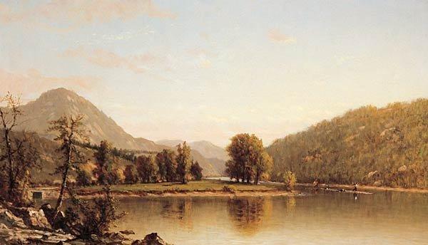 """62: John Pope """"River Scene"""""""