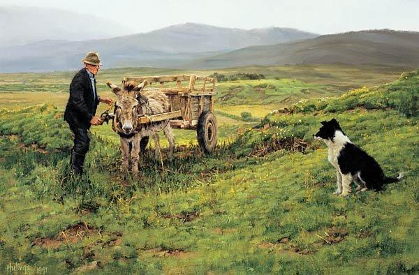 """75: Clark Hulings """"The Irish Peat Man"""""""