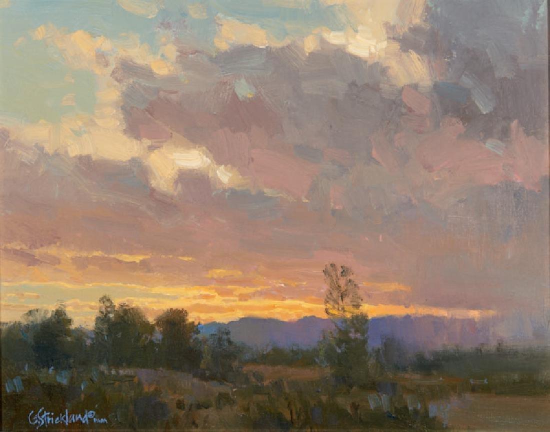 George Strickland | Rainy Sunset