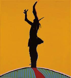 Fritz Scholder   Sunshine Indian