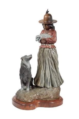 Juan Dell Navajo Shepherdess
