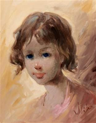 Vladan Stiha Portrait of a Girl