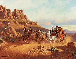 Fred Lucas Stagecoach