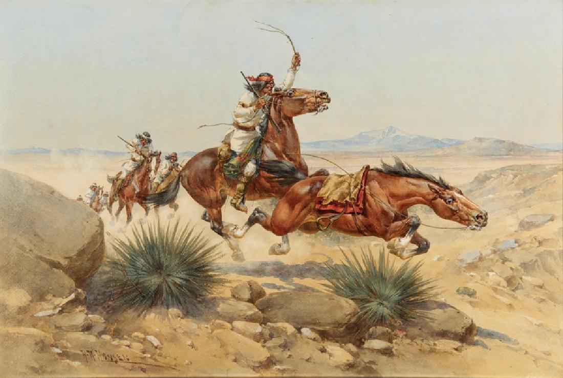 Herman Wendelborg Hansen   The Indian Raid