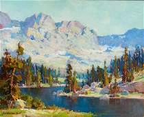 Jack Wilkinson Smith   Pine Bordered Lake, High Sierra