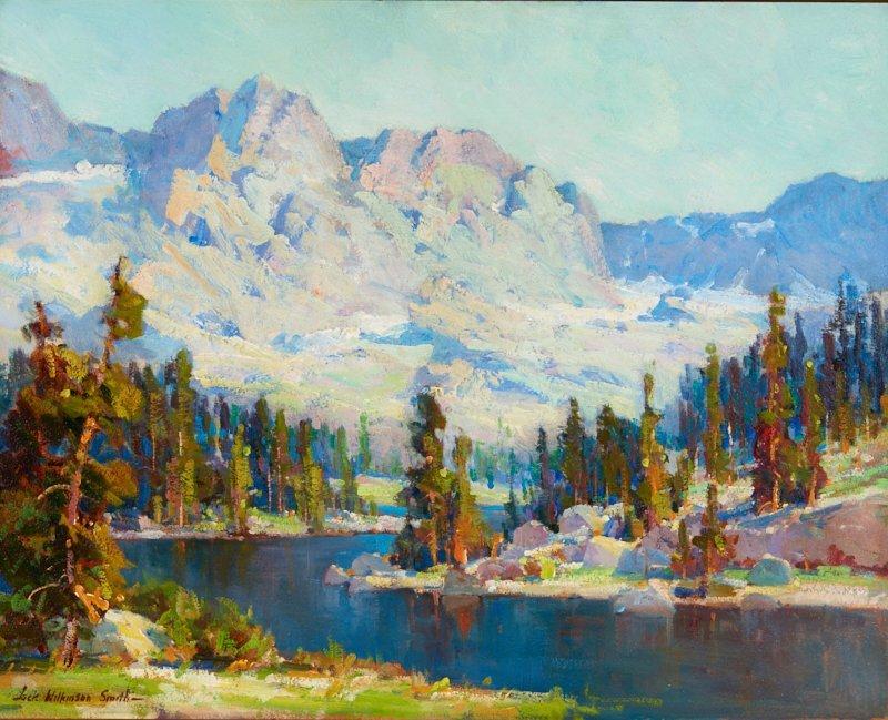 Jack Wilkinson Smith | Pine Bordered Lake, High Sierra