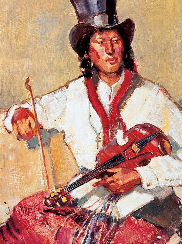 """1004: John Moyers """"Metis Fiddler"""""""