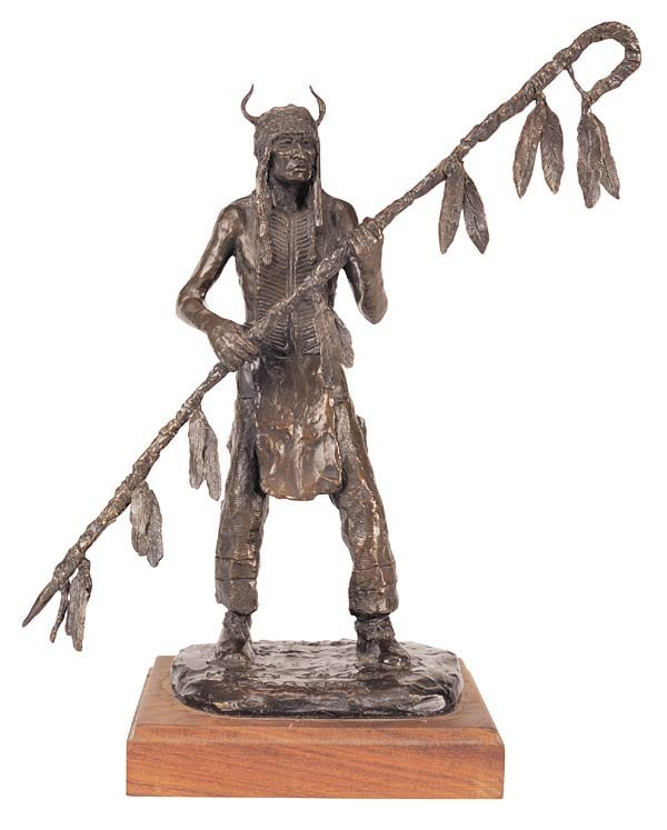"1008: Robert Scriver ""Horn Society Warrior"""