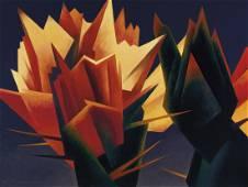 Ed Mell | Crimson Spikes