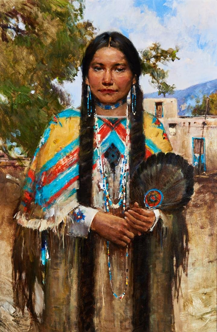 Cyrus Afsary | Bride by Taos Pueblo