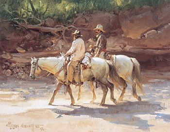 """5: """"Canyon Riders"""" by Gary Niblett"""