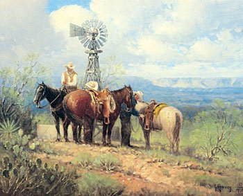 """8: """"Rigging the Brush Country"""" by G. Harvey"""