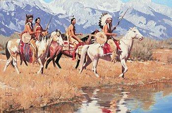 """13: """"Teton Trail"""" by David Mann"""