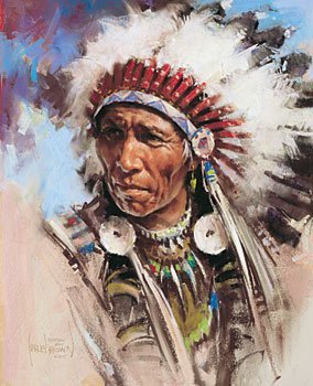 """21: """"Bearspaw Stoney"""" by Harley Brown"""
